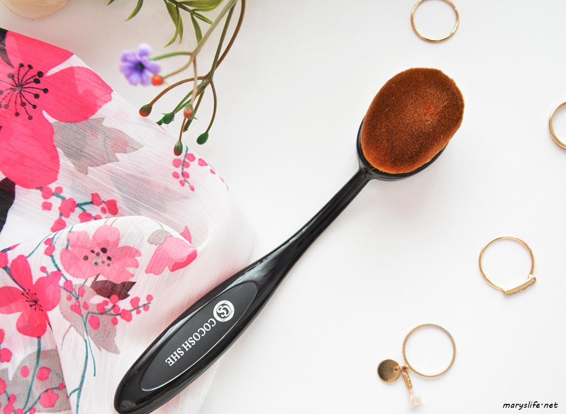 Cocosh She Oval Fondöten Fırçası / Kaşık Fırçası
