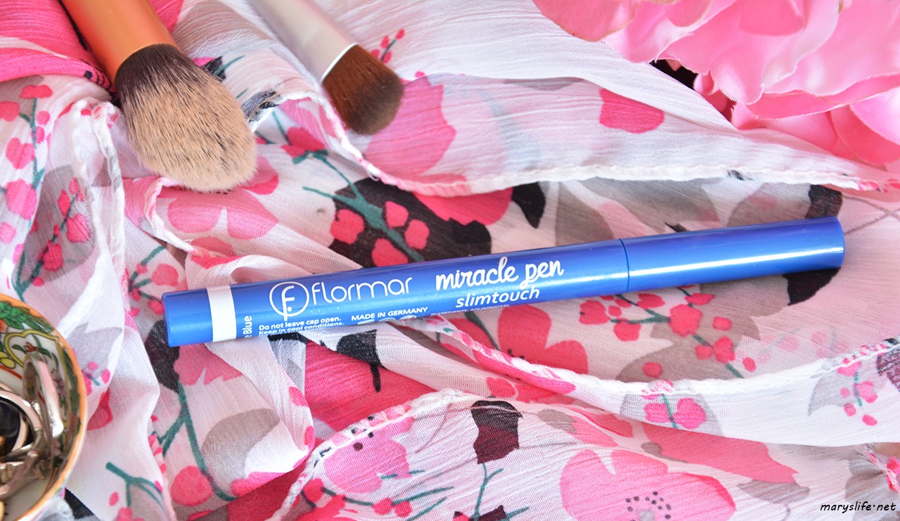 Flormar Miracle Pen Slim Touch Mavi Eyeliner