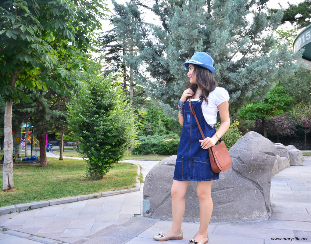 Salopet Askılı Elbise Modelleri