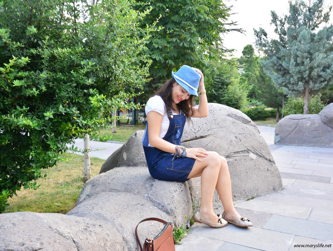 Şapka Kombinleri Yaz