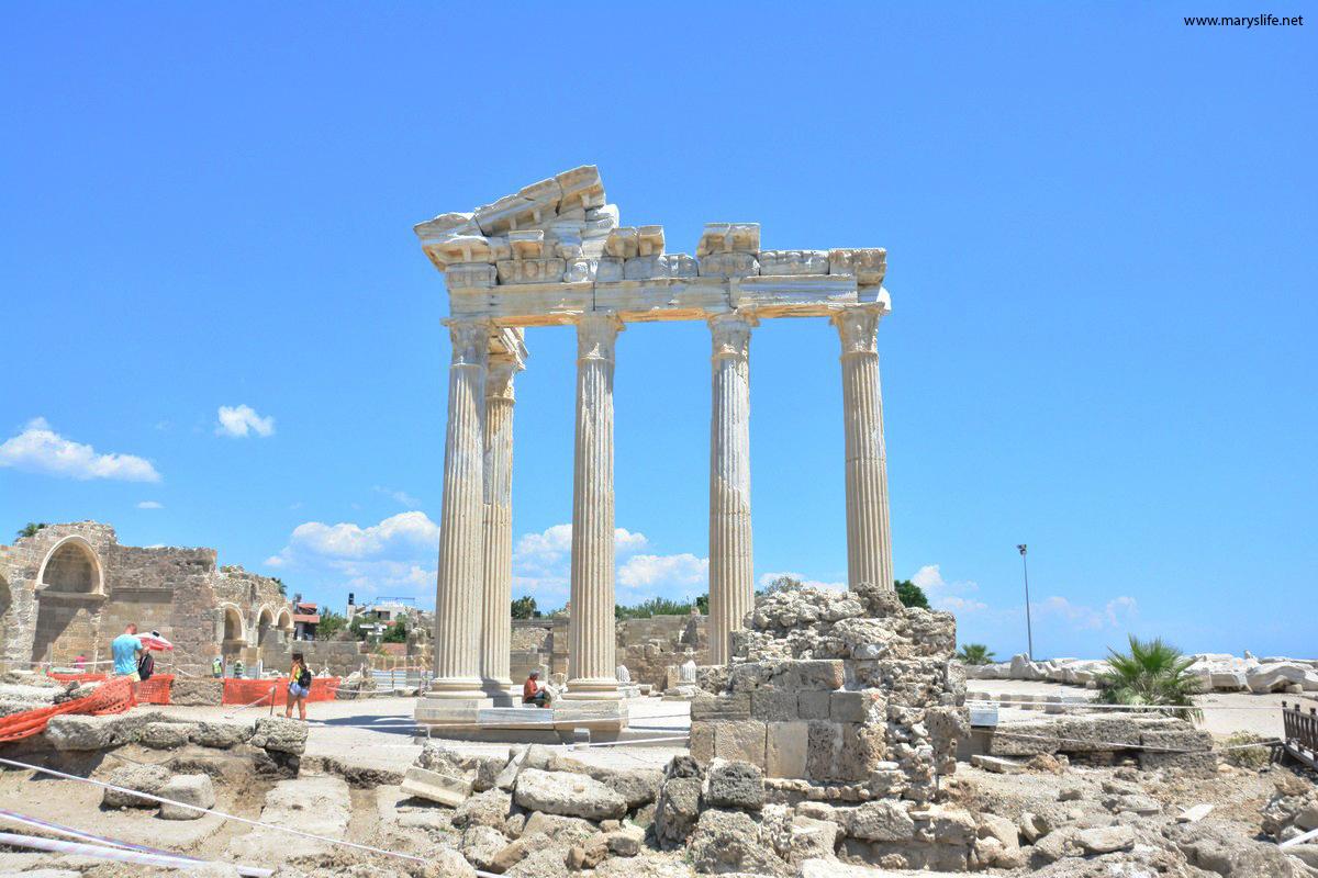 Side Apollon Tapınağı Hakkında Bilgi