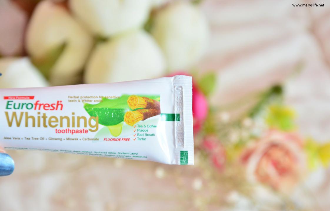 Farmasi Eurofresh Whitening Diş Macunu Kullananlar