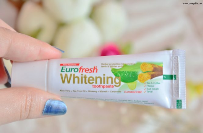 Farmasi Eurofresh Whitening Diş Macunu Yorumlar
