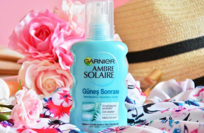 Garnier Ambre Solaire Güneş Sonrası Nemlendirici Ferahlatıcı Sprey Yorumlar