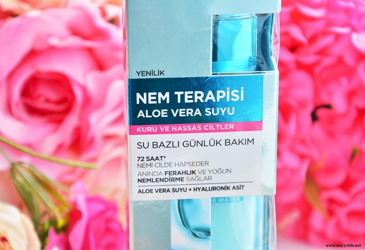 L'Oreal Paris Nem Terapisi Aloe Vera Suyu Çeşitleri? / Hangi Cilt Tipine Uygun?