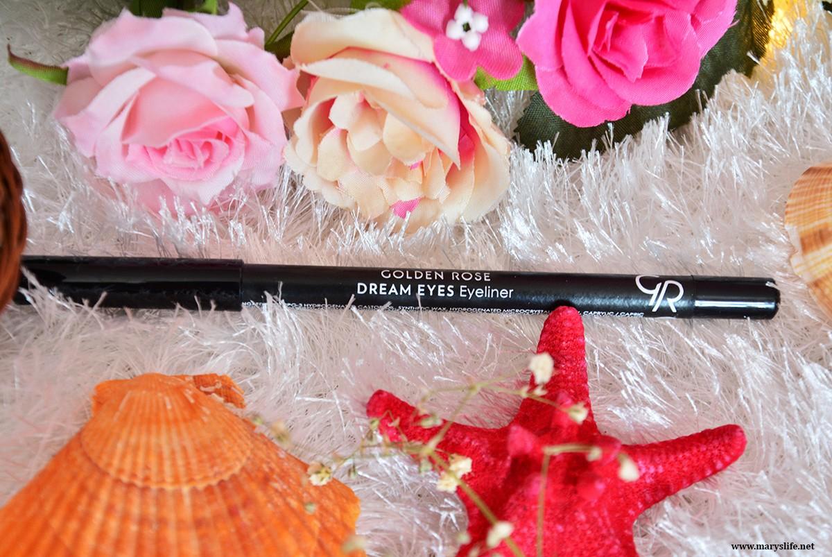 Golden Rose Dream Eyes Eyeliner 401 Blog