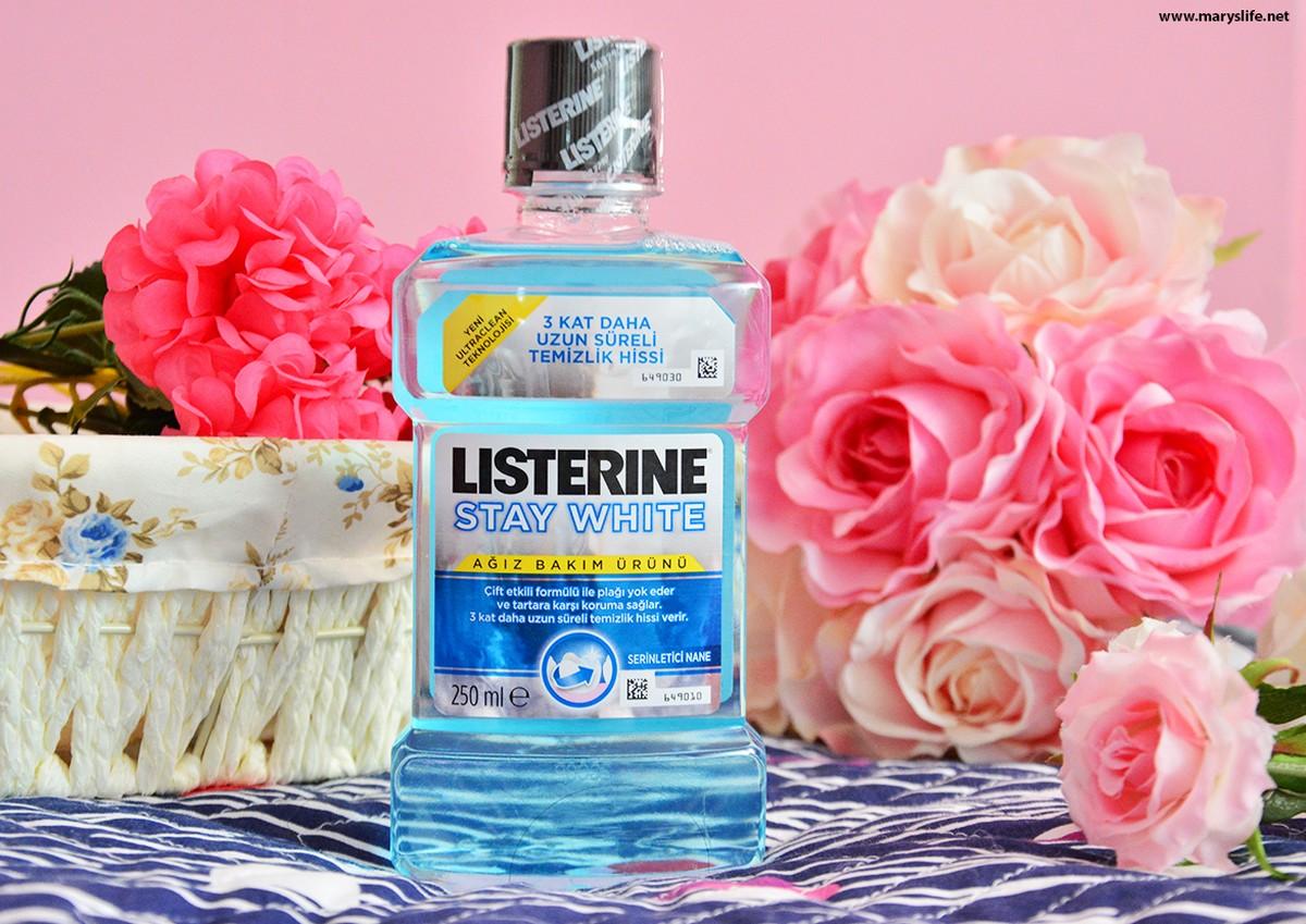 Listerine Stay White Blog