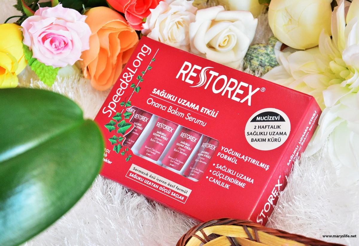 Restorex Sağlıklı Uzama Etkili Onarıcı Bakım Serumu İncelemesi
