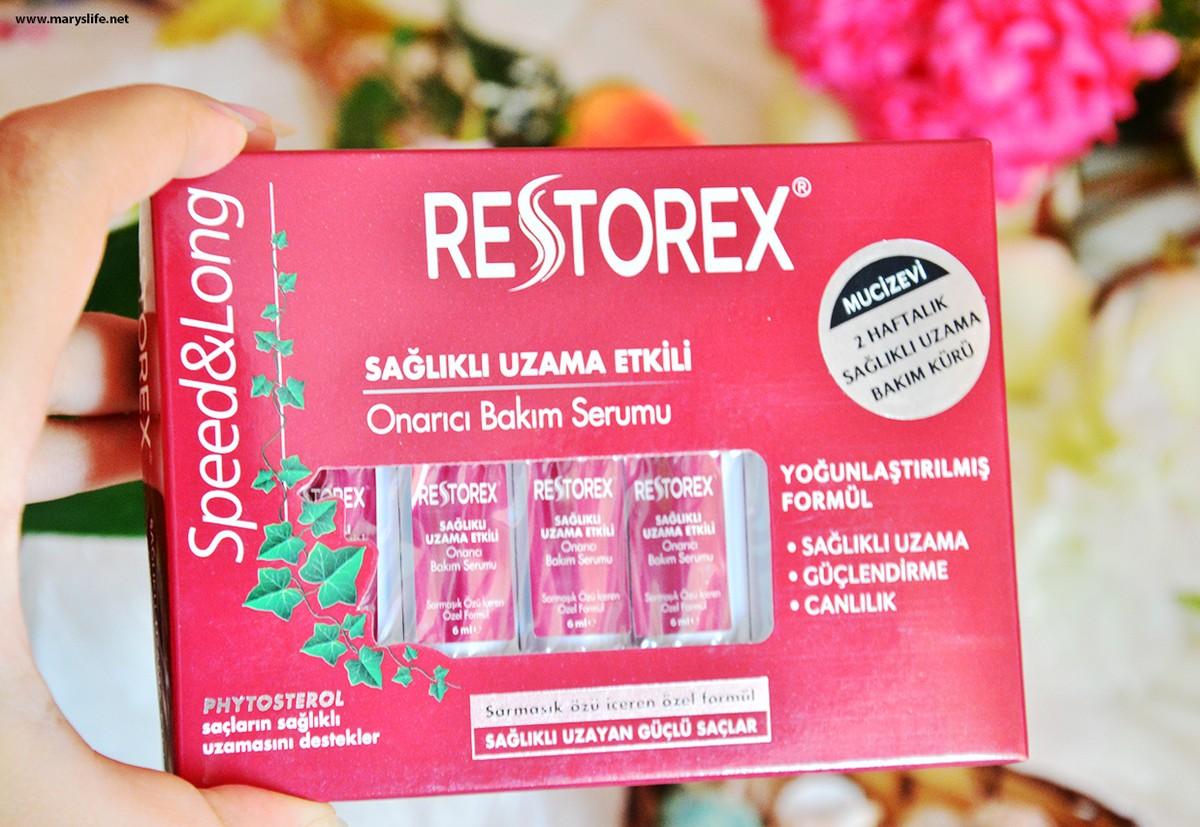 Restorex Sağlıklı Uzama Etkili Onarıcı Bakım Serumu Blog