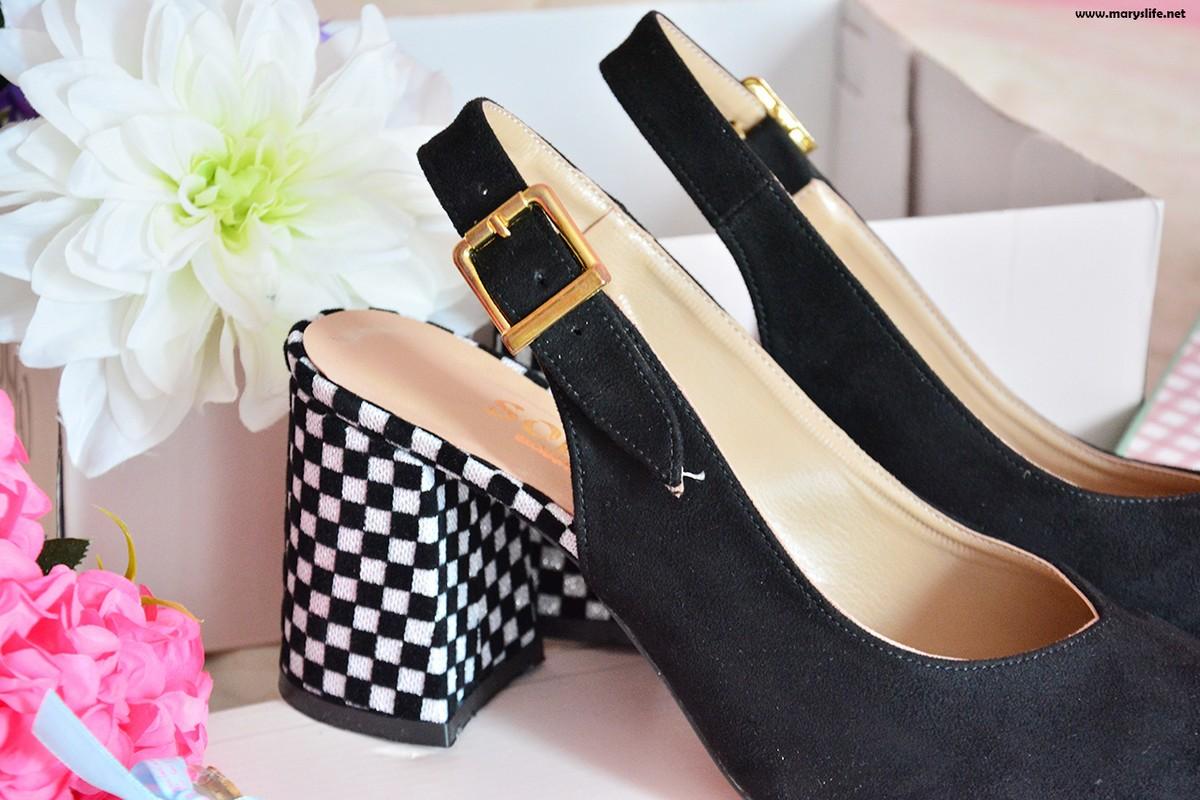 Kalın Topuklu Süet Ayakkabı