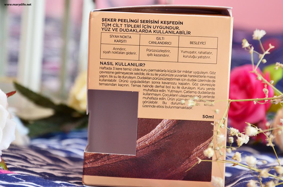 L'oreal Paris Şeker Peelingi Besleyici Nasıl Kullanılır?