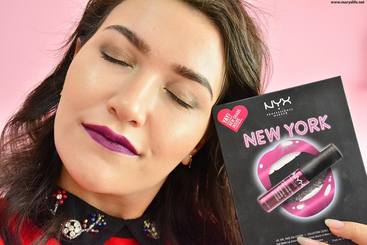 Nyx Professional Makeup Makyaj Seti - City Set New York Blog