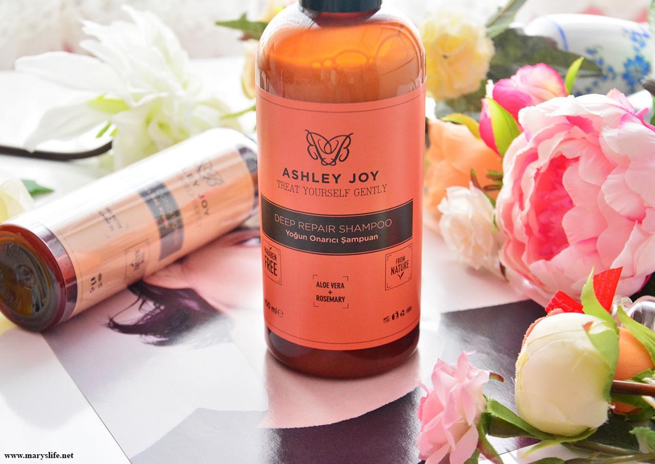 Ashley Joy Yoğun Onarıcı Şampuan İncelemesi