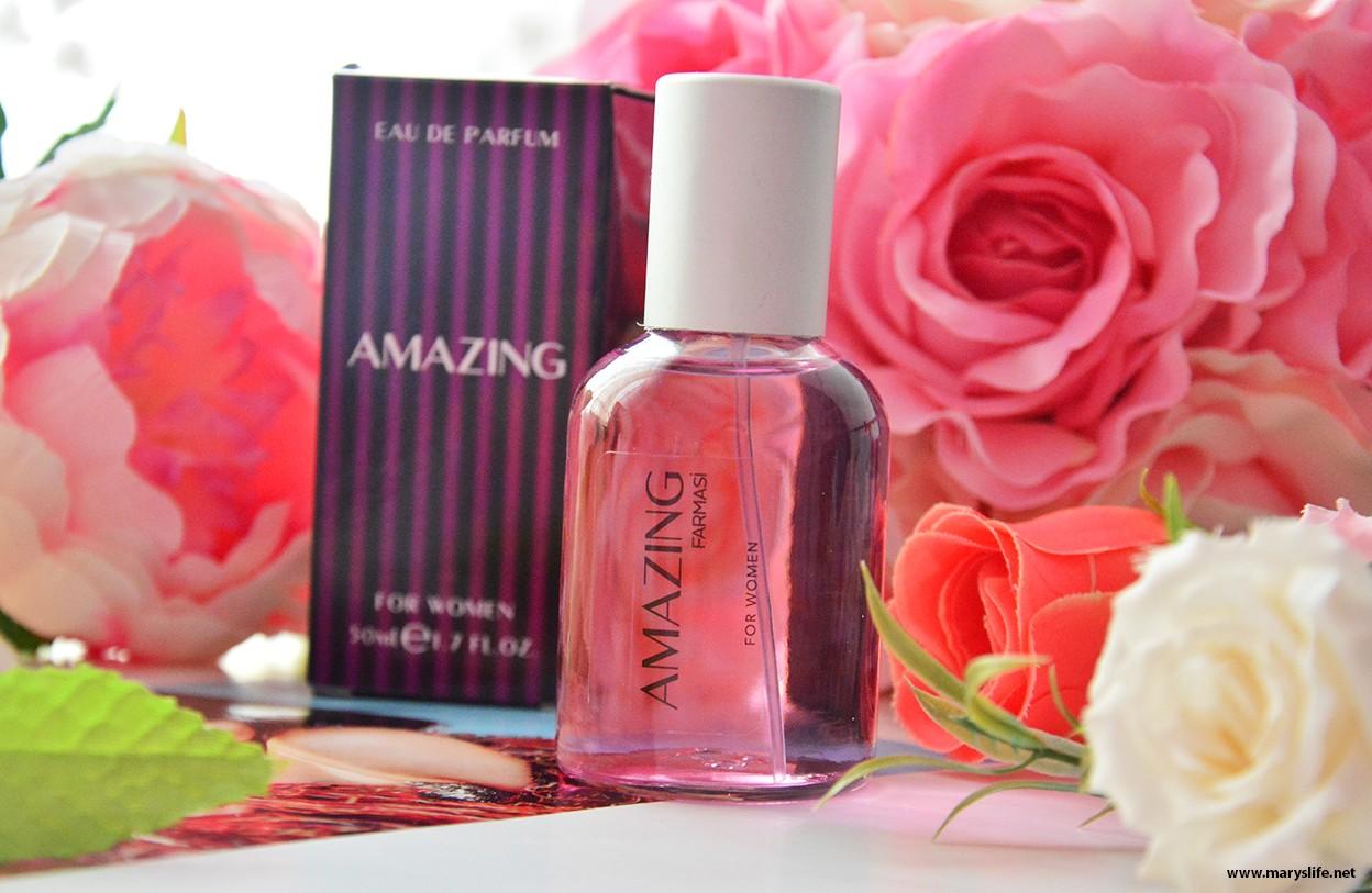 Farmasi Amazing EDP Kadın Parfümü İncelemesi