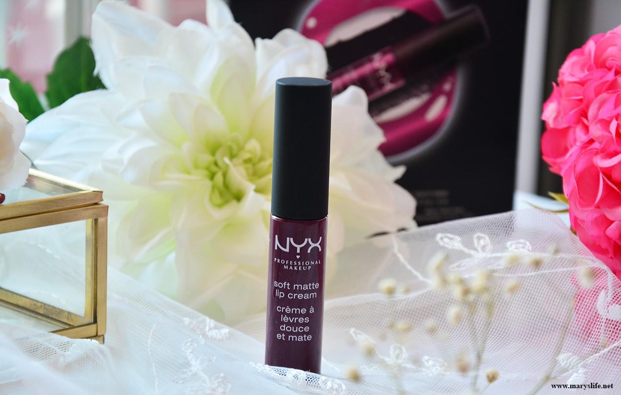 Nyx Soft Matte Lip Cream SMLC45 İncelemesi