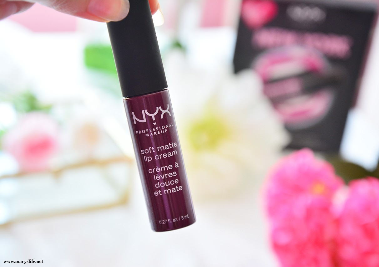 Nyx Soft Matte Lip Cream Blog