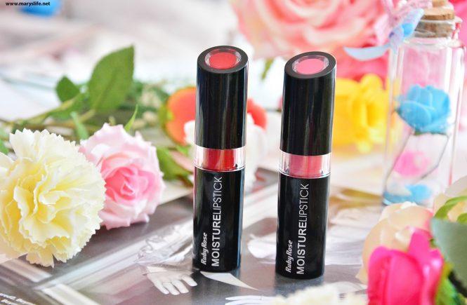 Ruby Rose Moisture Lipstick 001 - 007 Rujları
