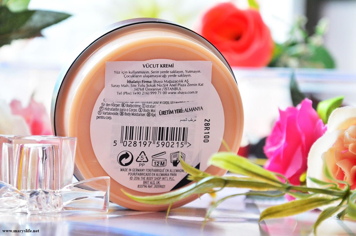 The Body Shop Shea Vücut Kremi Nasıl Kullanılır?