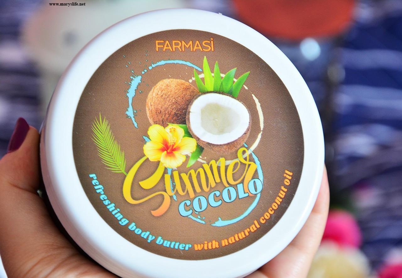 Farmasi Hindistan Cevizi Vücut Bakım Kremi / Summer Cocolo Nerede Satılıyor? / Fiyatı
