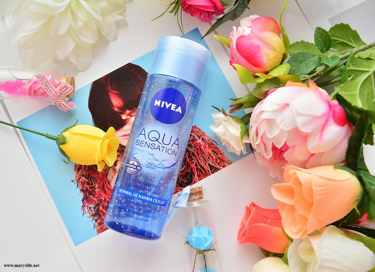 Nivea Aqua Sensation Canlandırıcı Temizleme Jeli Yorumlar