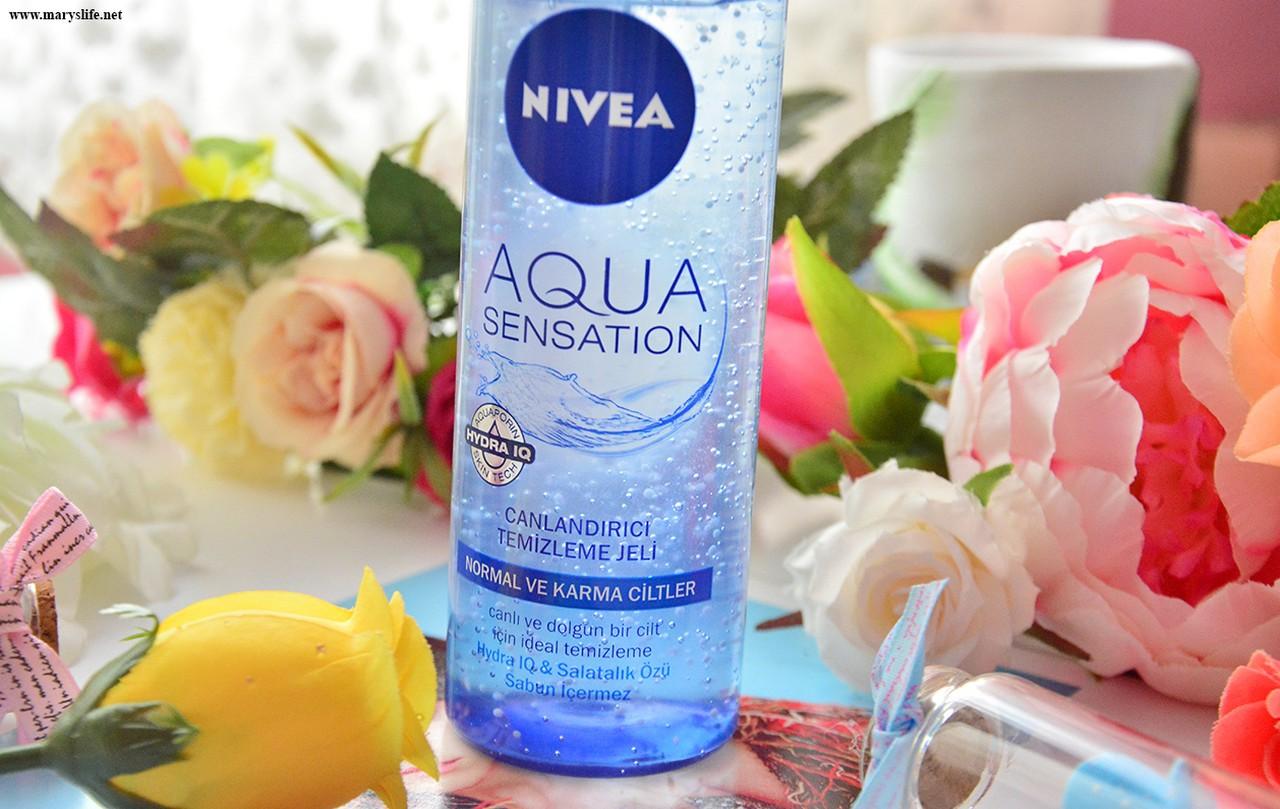 Nivea Aqua Sensation Canlandırıcı Temizleme Jeli İncelemesi