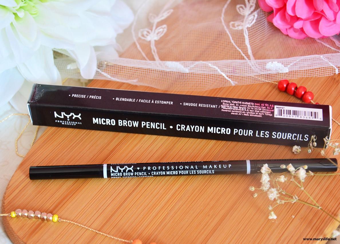 Nyx Micro Kaş Kalemi / Brow Pencil Yorumlar