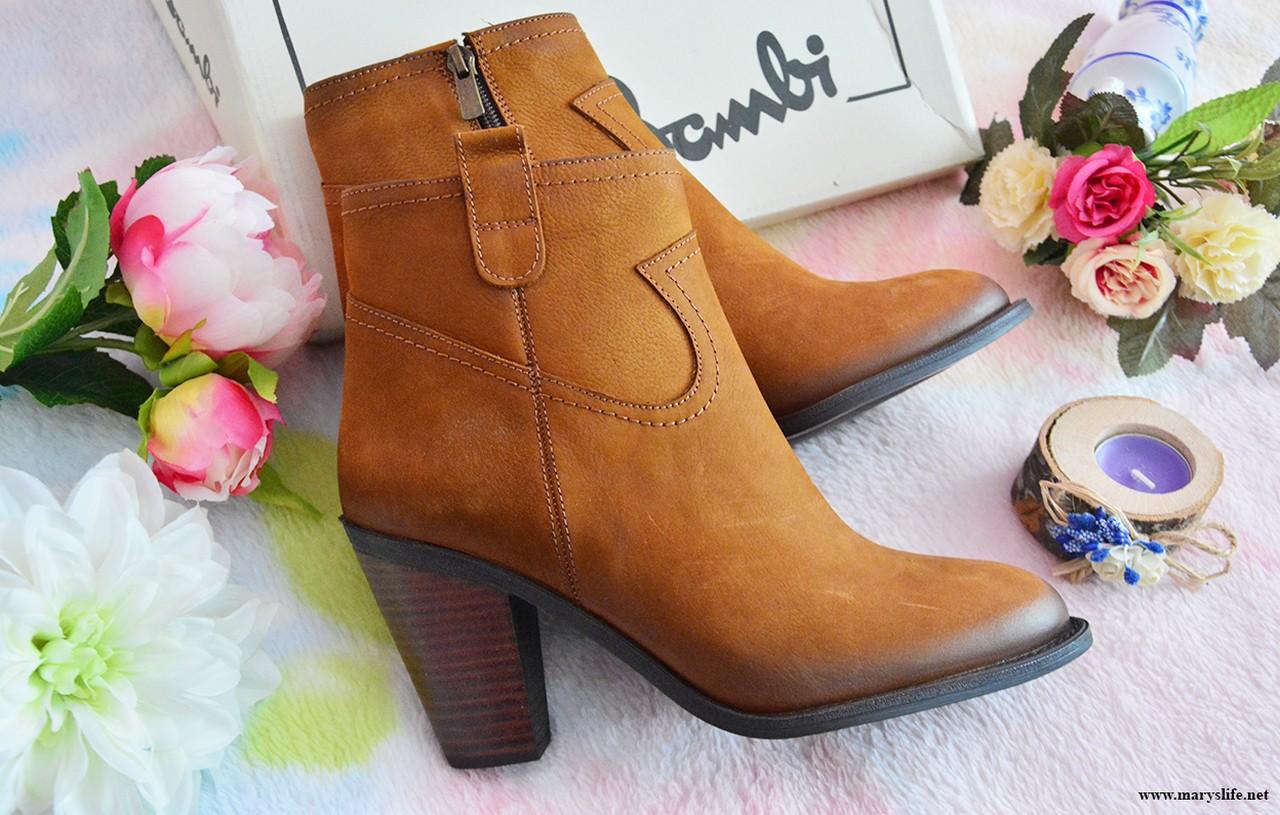 Kahverengi Topuklu Bot Bayan
