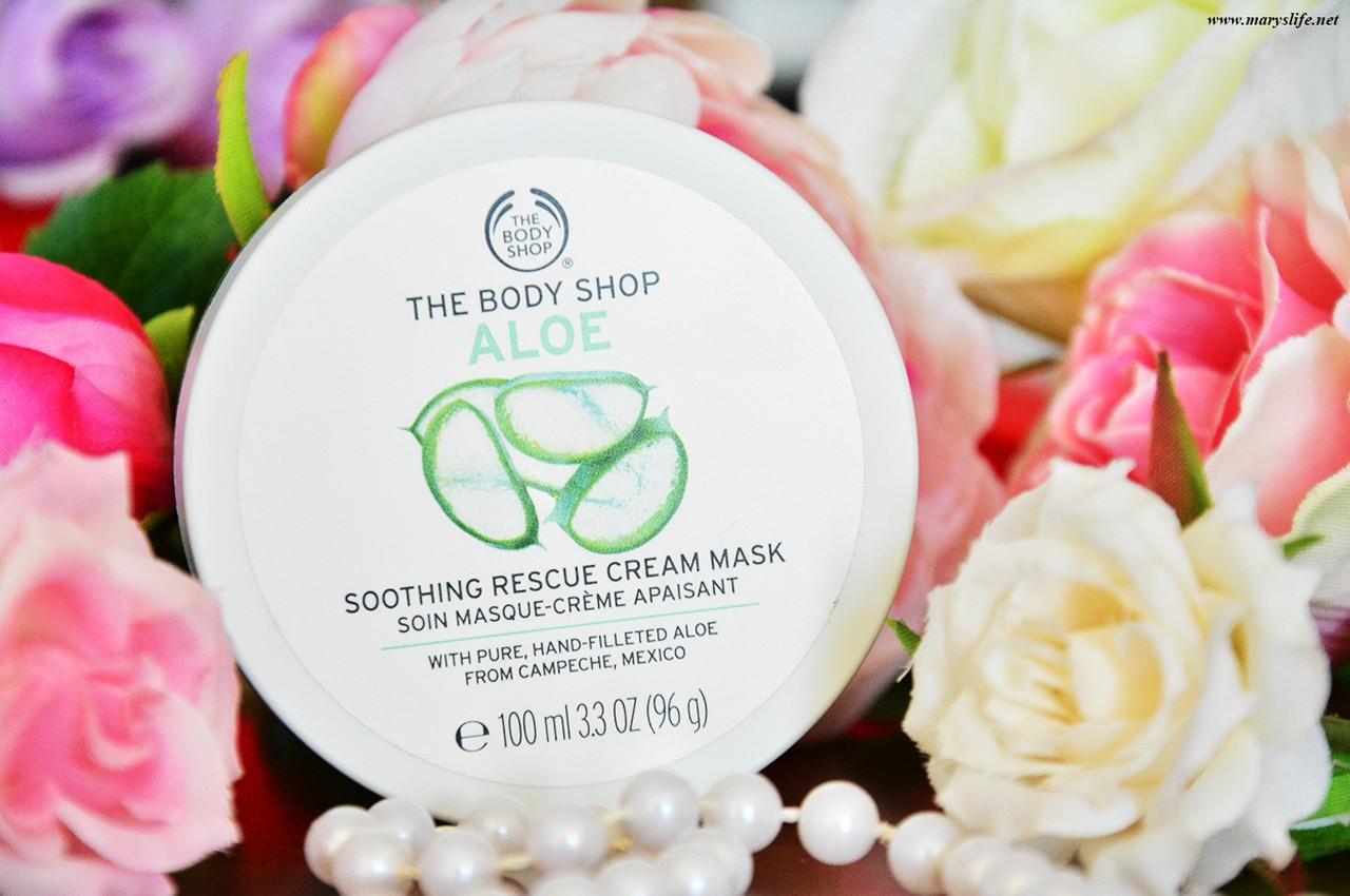 The Body Shop Aloe Yumuşatıcı Yüz Maskesi Kullananlar