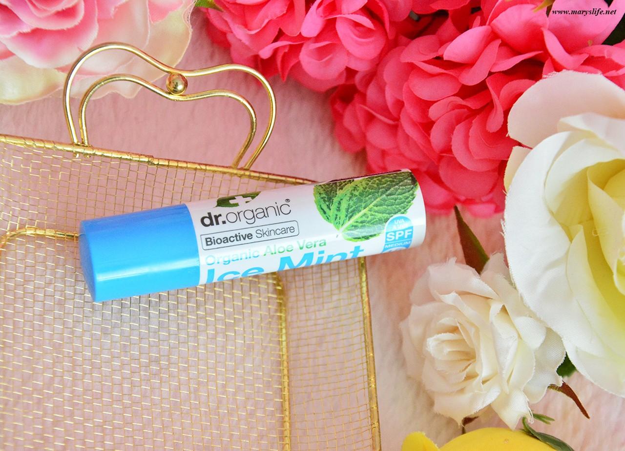 Dr Organic Aloe Vera Ice Mint Lip Balm Kullananlar