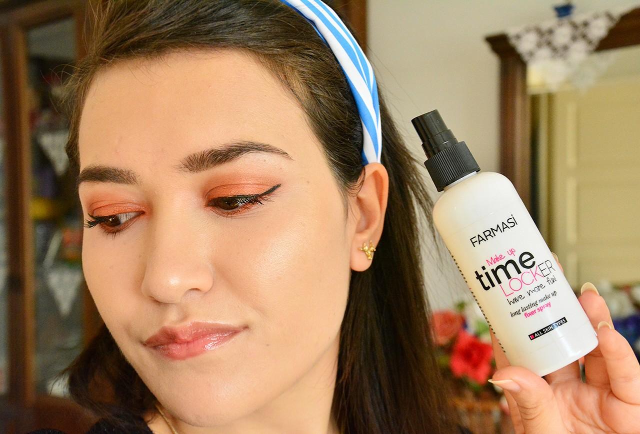 Farmasi Makeup Time Locker Makyaj Sabitleme Spreyi Kullananlar