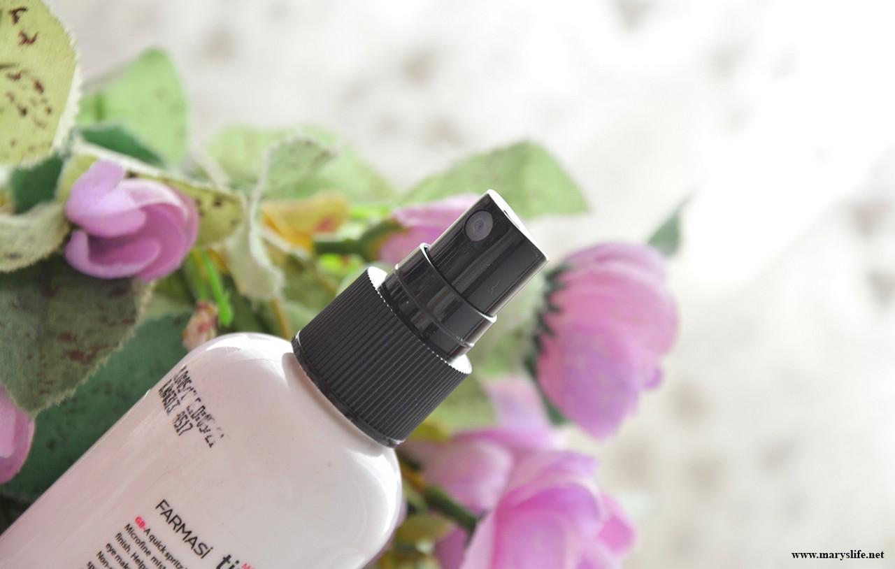 Farmasi Makeup Time Locker Makyaj Sabitleme Spreyi Blog