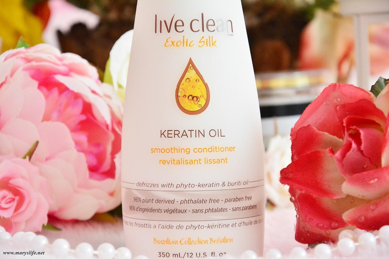 Live Clean Keratin Oil Saç Kremi | Yıpranmış Saçlar İçin Saç Kremi İncelemesi