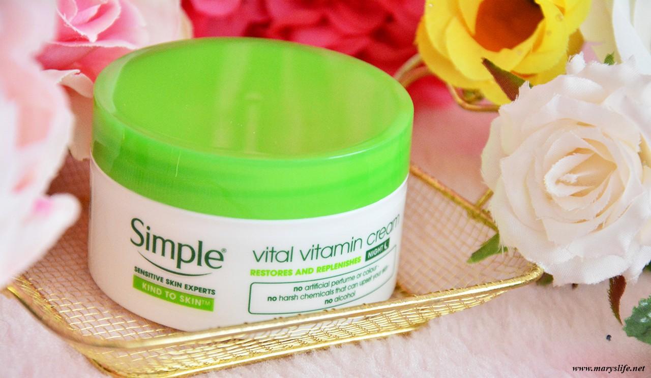 Simple Vital Vitamin Gece Kremi Kullananlar