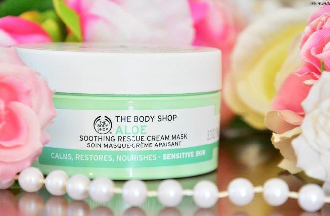 The Body Shop Aloe Vera Yumuşatıcı Yüz Maskesi Yorumlar