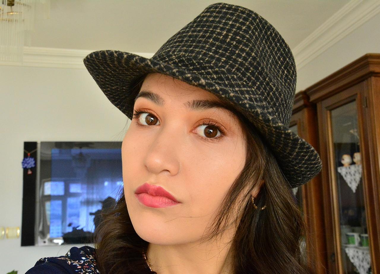 Kadın Kovboy Şapka Modeli
