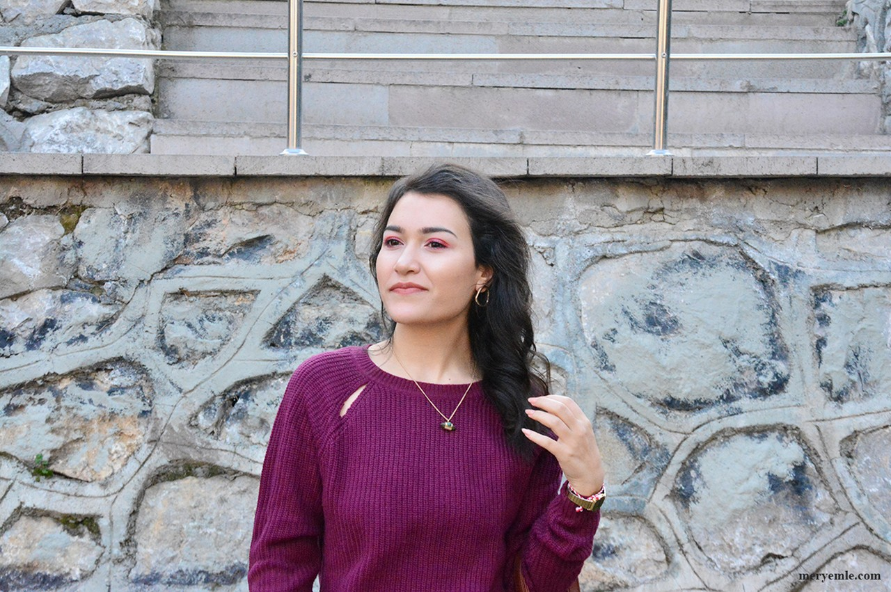 Açık Mor Kazak Modelleri