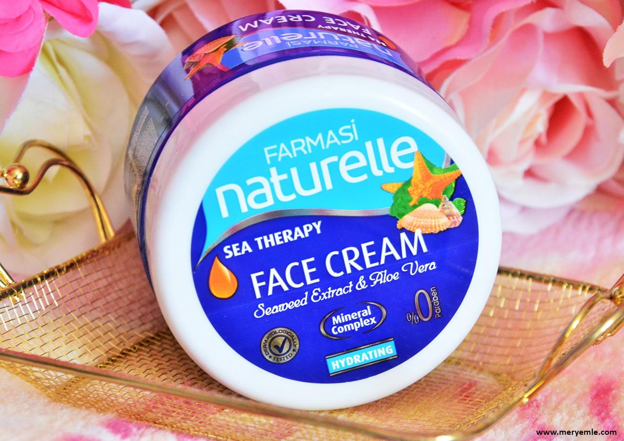 Farmasi Naturelle Sea Therapy Face Cream Ne İşe Yarar?