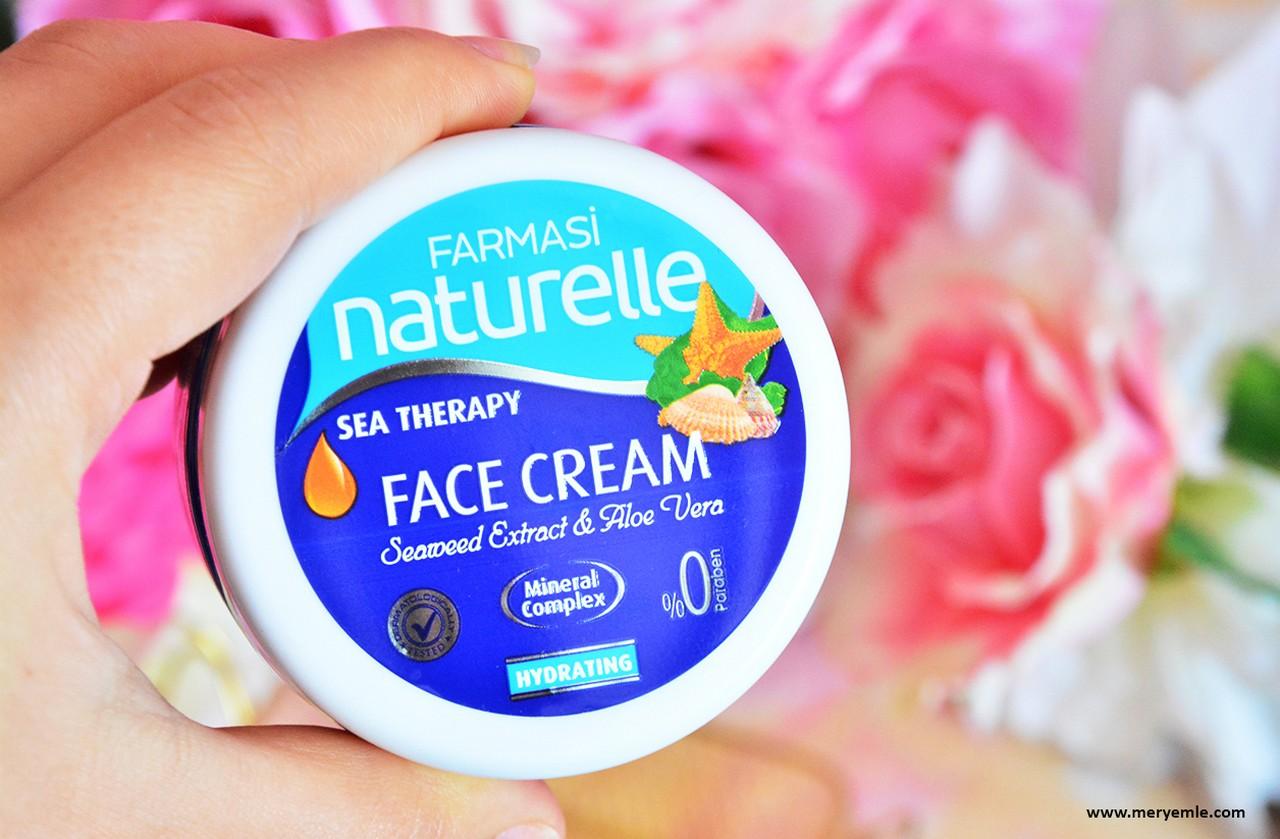 Farmasi Naturelle Sea Therapy Face Cream Kullananlar