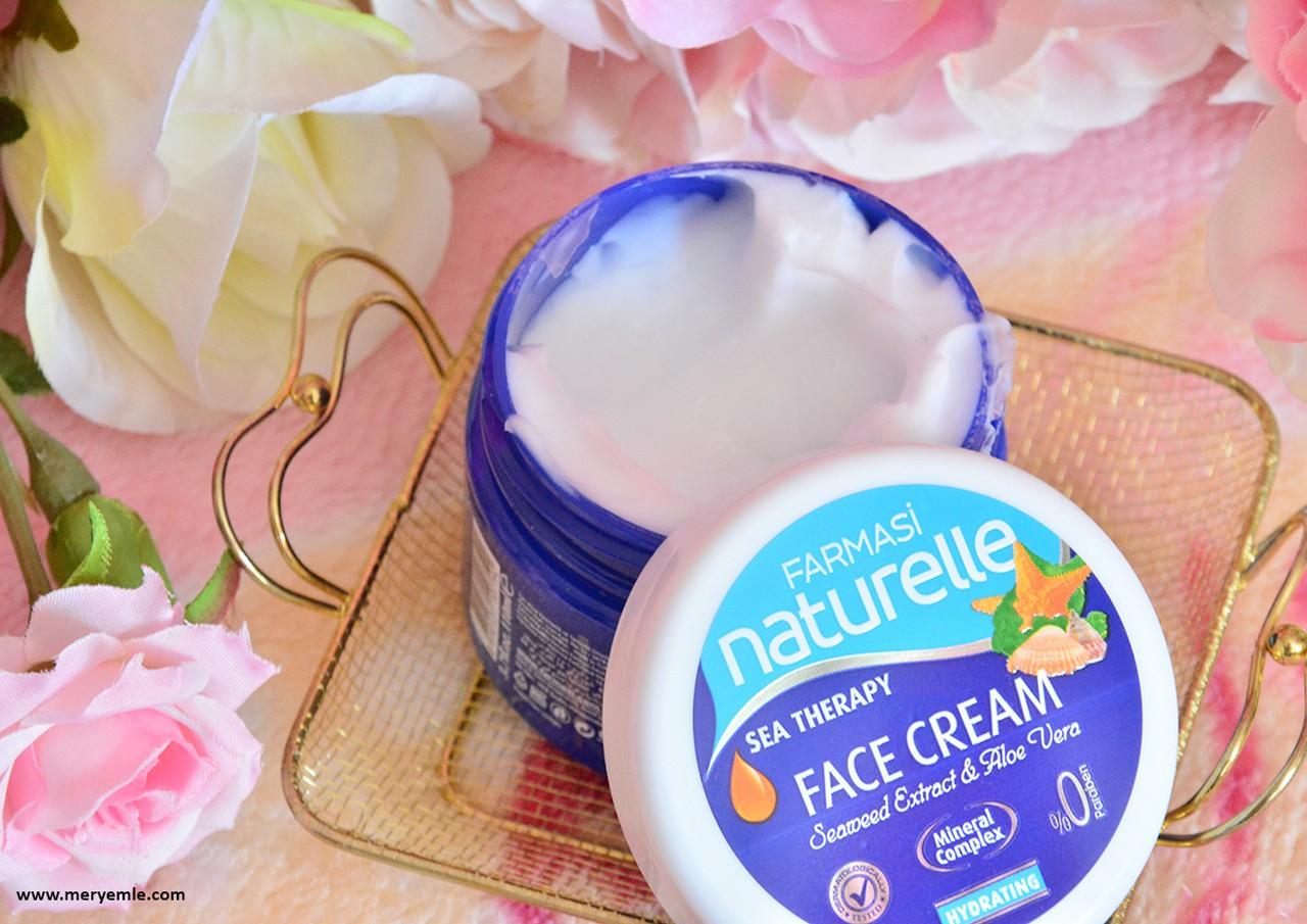 Farmasi Naturelle Sea Therapy Face Cream Yorumları