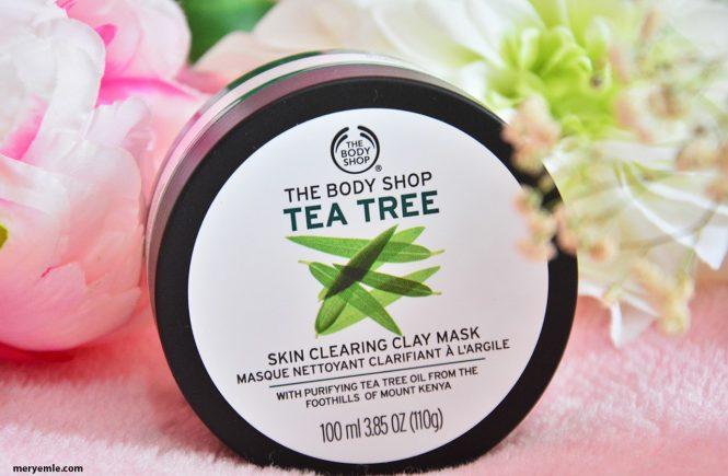 The Body Shop Tea Tree | Çay Ağacı Yağı Kil Maskesi Yorumlar