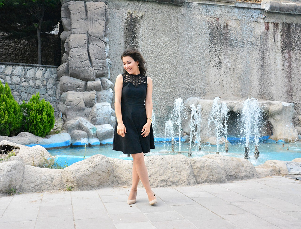Mezuniyet Siyah Elbise Modeli