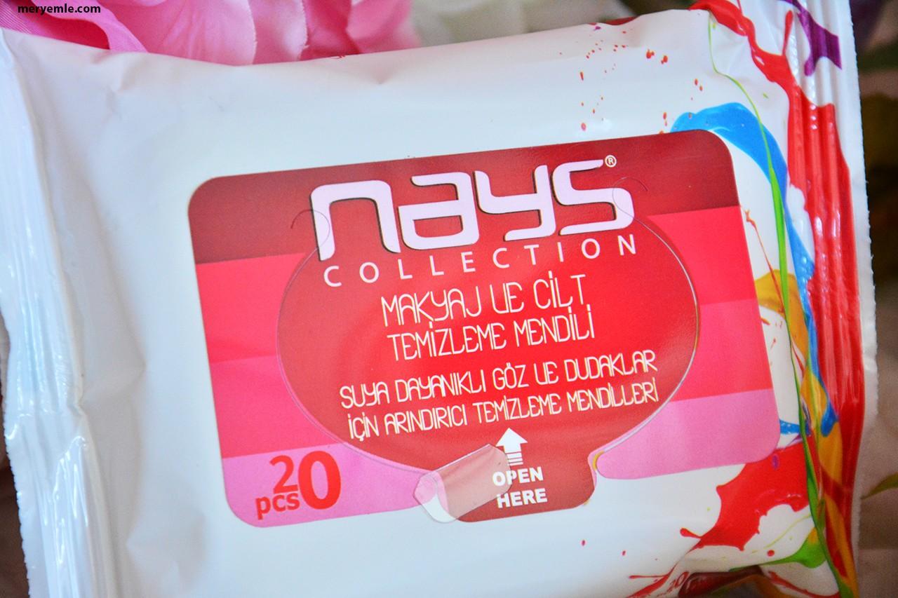 Nays Collection Makyaj ve Cilt Temizleme Mendili Yorumlar