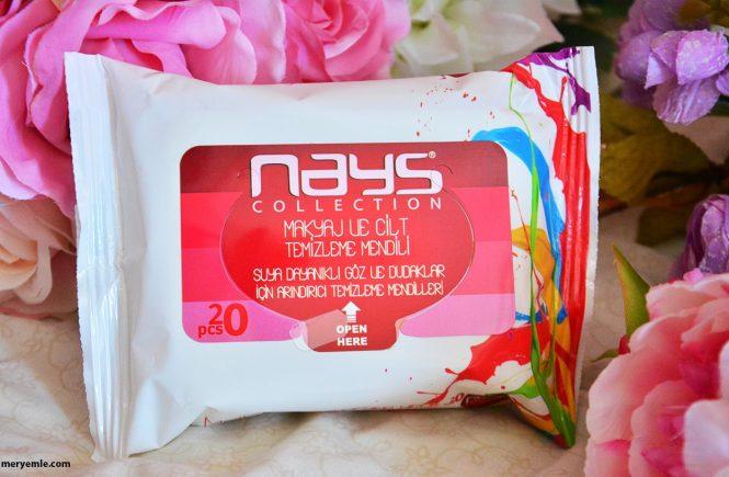 Nays Collection Makyaj ve Cilt Temizleme Mendili Blog