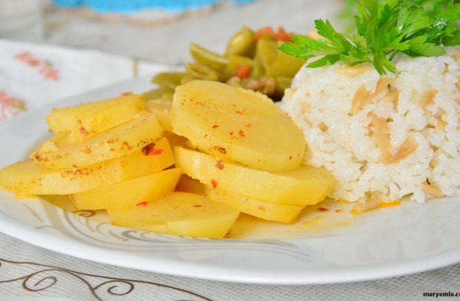Tereyağlı Patates Yemeği Nasıl Yapılır?