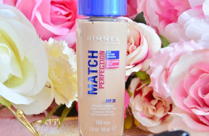 Rimmel London Match Perfection Fondöten İnceleme
