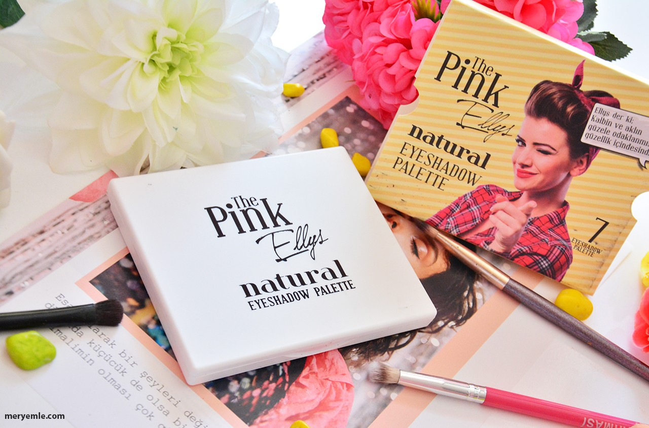 The Pink Ellys Natural Far Paleti Blog