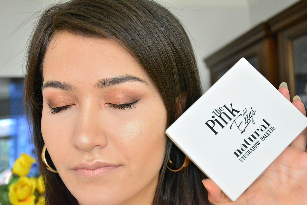 The Pink Ellys Natural Eyeshadow Palette 7li Kullananlar