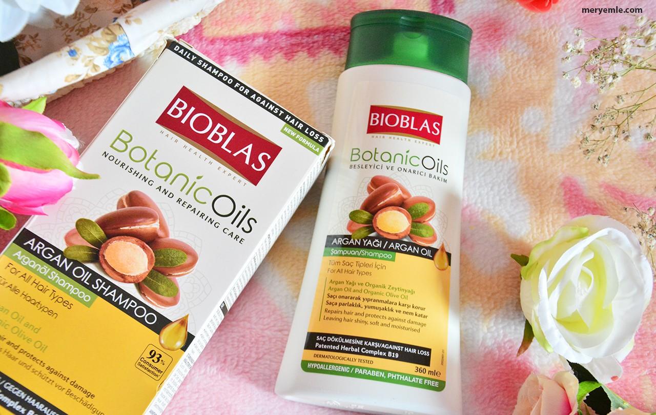 Bioblas Botonic Oils Argan Yağı Şampuan Kullananlar