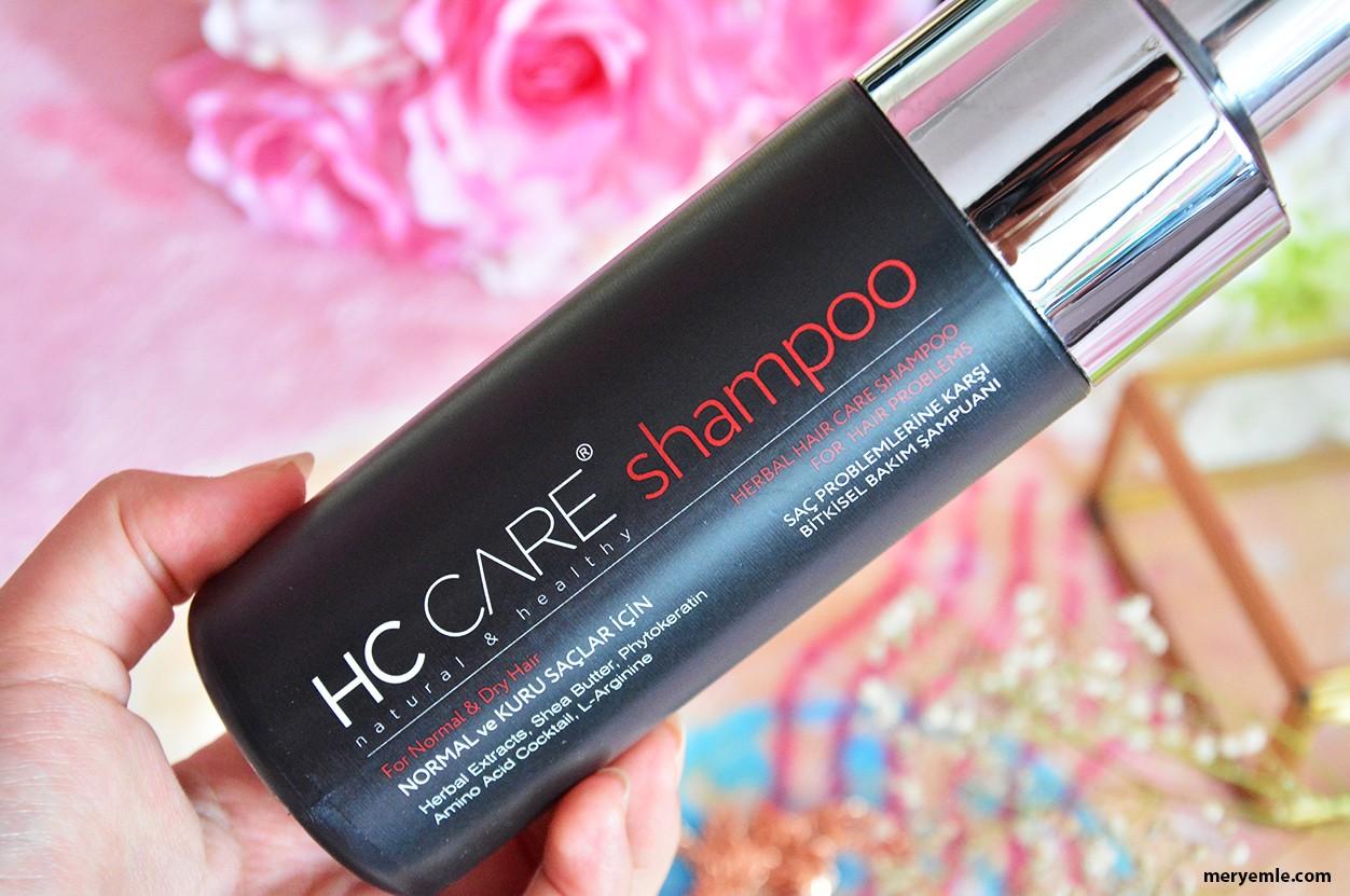HC Care Normal ve Kuru Saçlar İçin Şampuan Nasıl Kullanılır?