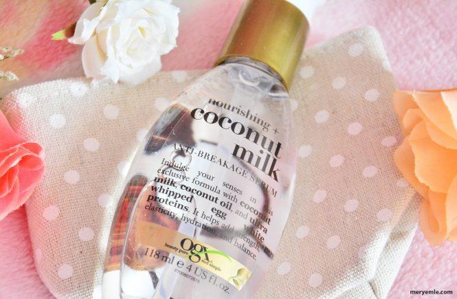 Organix Coconut Milk Kırılma Karşıtı Serum Ne İşe Yarar?